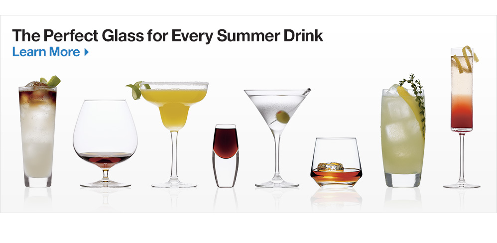 The Perfect Glass for Every Summer Drink