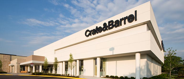 Furniture Store Schaumburg Il Woodfield Road Crate And Barrel