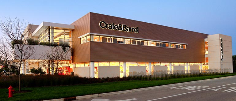 Furniture Store Geneva Il Geneva Commons Crate And Barrel