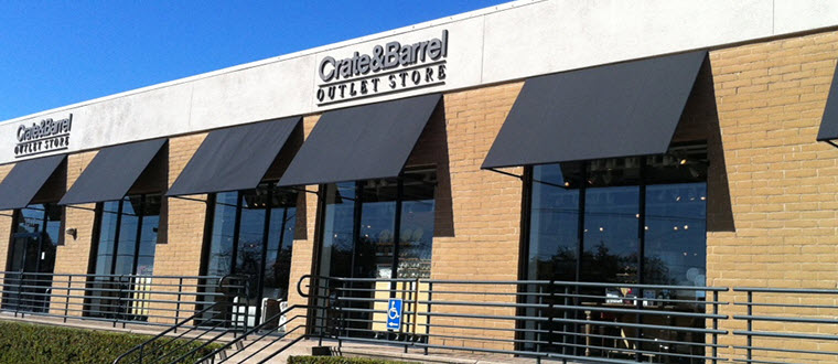 Furniture Home Decor Outlet Dallas Tx Inwood Outlet Center Crate And Barrel