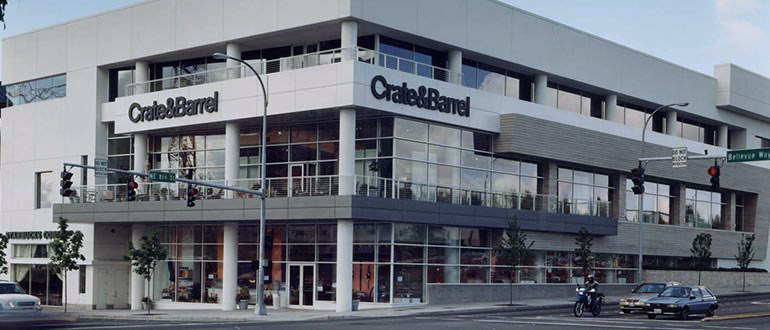 Furniture Store Bellevue Wa Bellevue Square Crate And Barrel