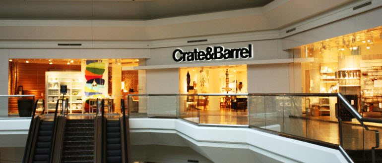 Furniture Short Hills Nj The Mall At Crate And Barrel