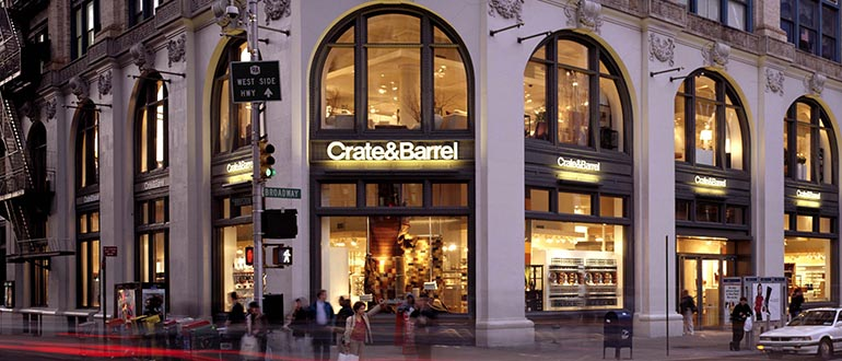 new york housewares furniture stores crate and barrel