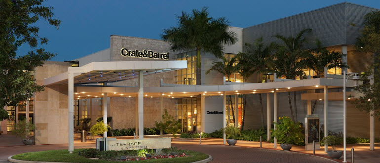 Furniture Store Boca Raton Fl Boca Raton Town Center Crate And Barrel