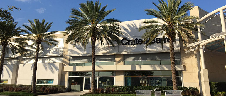 Furniture Store Orlando Fl Mall At Millenia Crate And