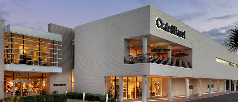 Furniture Store Tampa Fl International Plaza Crate And Barrel