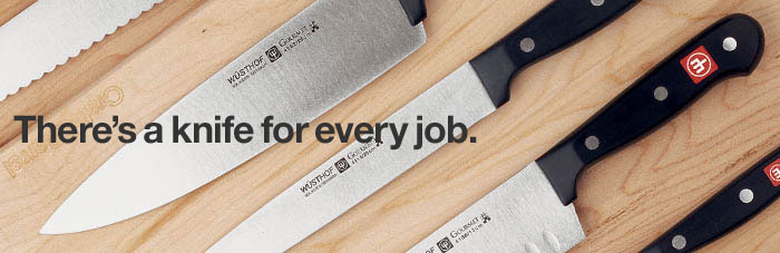 Cutlery. There's a knife for every job